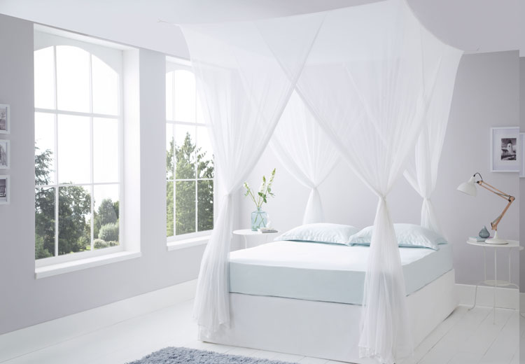 Luxurious Box Cotton Mosquito Net Super King Size