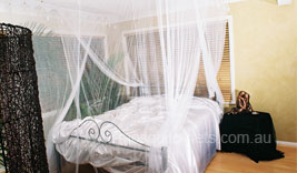 Super King Size White Box Mosquito Net