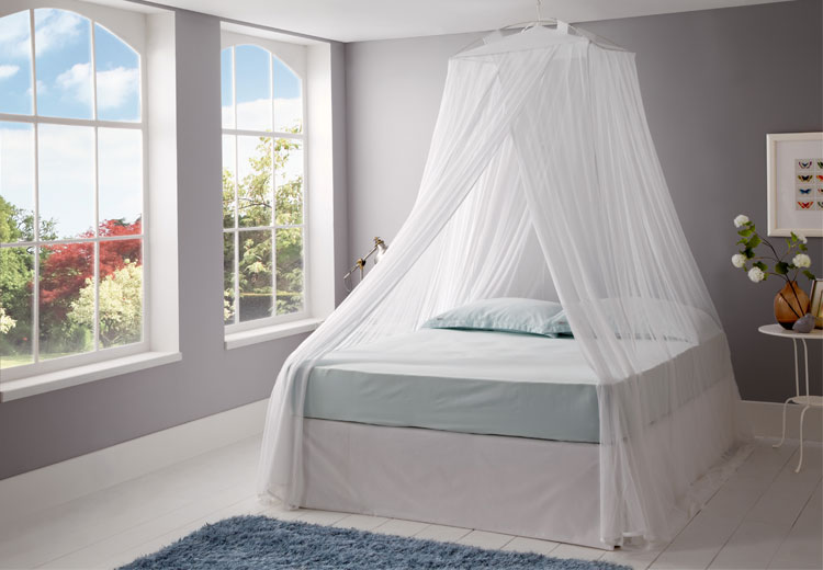 Mosquito Nets Online UK | Bed Canopies Cotton Mosquito Net Canopy