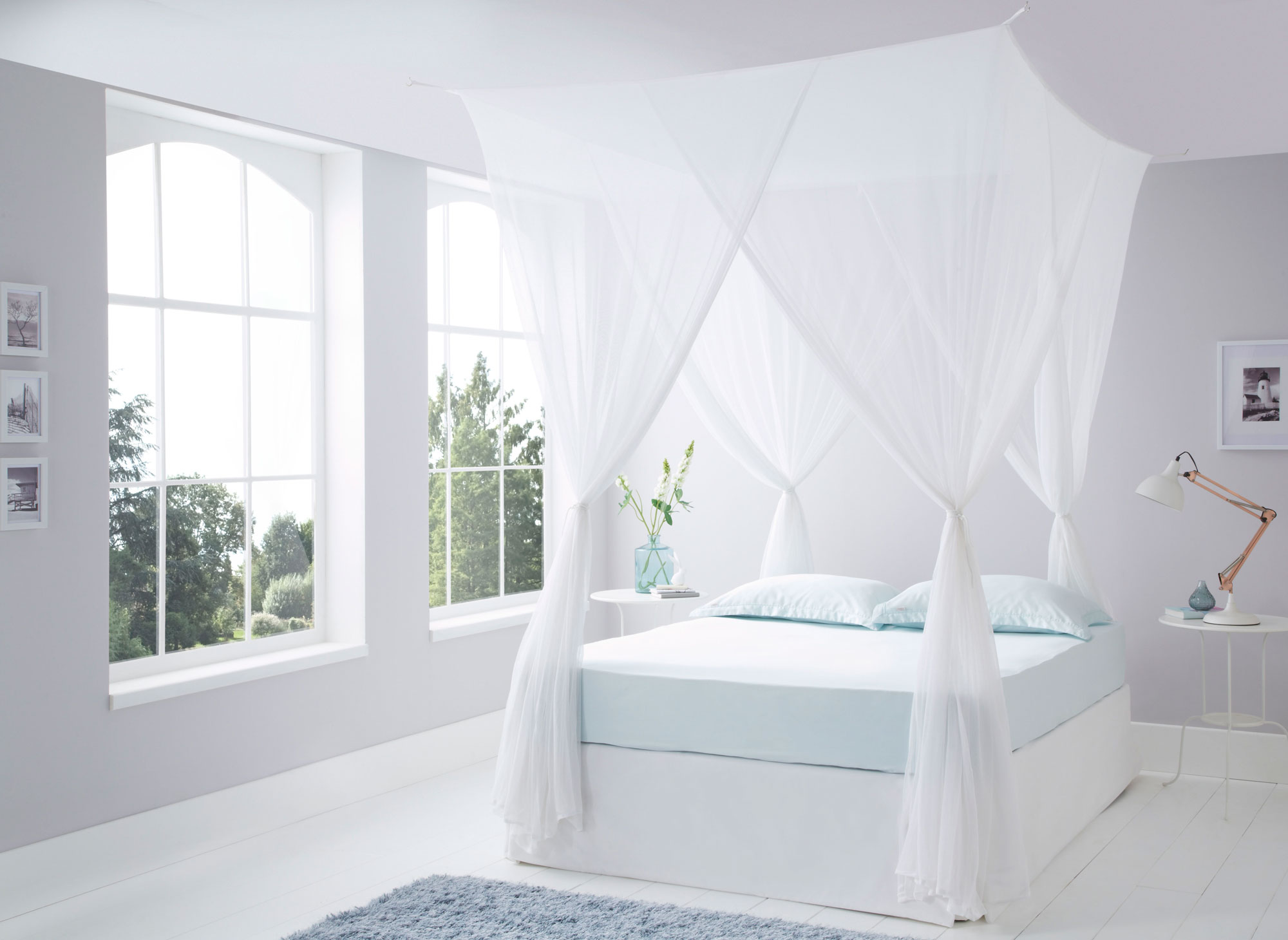 Cotton Bed Canopy Mosquito Nets. Luxurious Box Cotton Mosquito Net Super King Size : canopy mosquito net bed - memphite.com